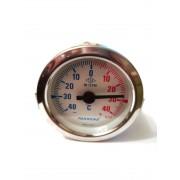 Термометр биметаллический Pakkens ø60мм / Tmax=от -40 до +40°С / длинна капилляра 1м / Турция