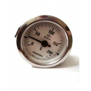 Термометр капиллярный Pakkens ø60мм / Tmax=200°С / длинна капилляра 1м / Турция