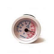 Термометр капиллярный Pakkens ø52мм / Tmax от -40 до +40°С / длинна капилляра 1м / Турция
