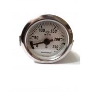 Термометр капиллярный Pakkens ø60мм / Tmax=250°С / длинна капилляра 1м / Турция