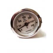 Термометр капиллярный Pakkens ø60мм / Tmax=300°С / длинна капилляра 2м / Турция