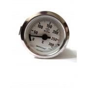 Термометр капиллярный Pakkens ø60мм / Tmax=300°С / длинна капилляра 1м / Турция