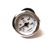 Термометр капиллярный Pakkens ø60мм / Tmax=200°С / длинна капилляра 2м / Турция