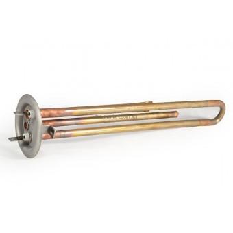 ТЭН для водонагревателей термекс 1,3 кВт Медь, прямой с трубками под 2 терм