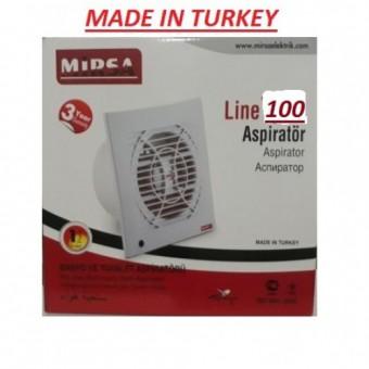 Вентилятор для вытяжки 100 30W 230V 180M MİRSA купить в Украине