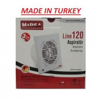 Вентилятор для вытяжки 120 30W 230V 180M MİRSA купить в Украине