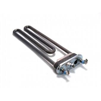 Тэн для стиральных машин Hansa/Bosch 1900W L=190 мм. (резинка с бортиком) (Thermowatt)