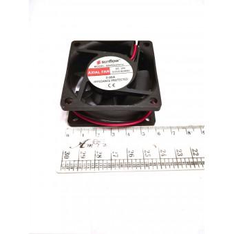 Вентилятор Sunflow (24V, 0.08A) 60х60х25мм квадратный купить в Украине