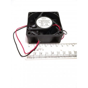 Вентилятор Brushless (12V, 0.20A) 60х60х25мм квадратный купить в Украине