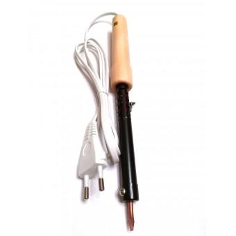 Паяльник электрический ПД100 / 220В-100Вт с деревянной ручкой купить в Украине