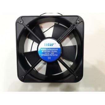 Купить Вентилятор Tidar (220V, 0.23A) 200х200x60 мм (квадратный)