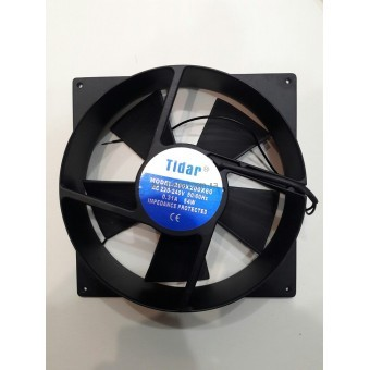 Купить Вентилятор Tidar (220V, 0.23A) 200х200x60 мм (полукруглый)
