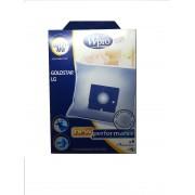 Набор одноразовых мешков Wpro LG121-MW из микрофибры для пылесосов LG, Goldstar / + Фильтр