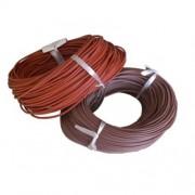 Провод медный термостойкий SIAF - сечение 0,75мм L=100м в резино-силиконовой изоляции ELCAB CABLO, Турция