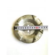 """Фланец для бойлера металлический """"ребристый-волнообразный"""" ø125мм / под 5 болтов"""