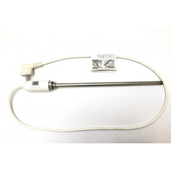 купить Тэн для полотенцесушителя с терморегуляторм 500W (Серый) / HT / Италия