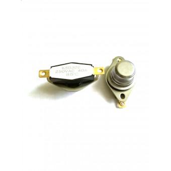 Термоотсекатель KSD302 с высокой головкой аварийный / 250V / 40A / на 85° купить в Украине