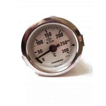 Термометр капиллярный Pakkens ø60мм / Tmax=300°С / длинна капилляра 2м / Турция купить в Украине