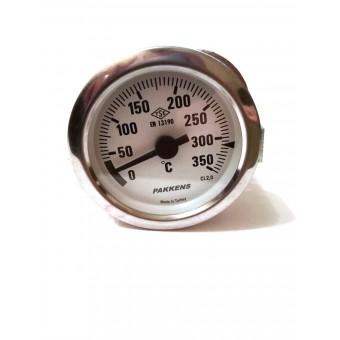 Термометр капиллярный Pakkens ø60мм / Tmax=350°С / длинна капилляра 1м / Турция купить в Украине