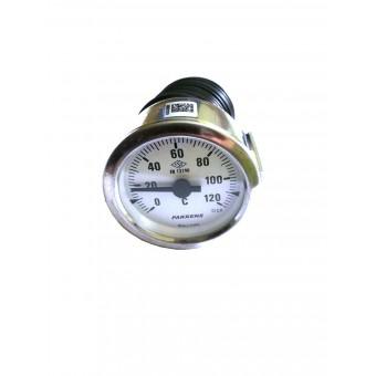 Термометр капиллярный Pakkens ø60мм / длинна капиллярный 1м / Tmax=120°С / Турция купить в Украине