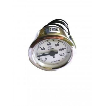 Термометр капиллярный Pakkens ø60мм / длинна капиллярный 2м / Tmax=120°С / Турция купить в Украине