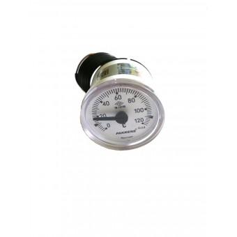 Термоманометр капиллярный Pakkens ø40мм / Tmax=120°С / длинна капилляра 1м / Турция купить в Украине