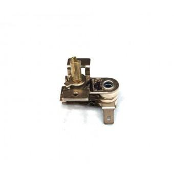 Терморегулятор биметаллический KST118 (MINJIA) / контакты согнуты вниз / с ушами / 3 изоляции купить в Украине