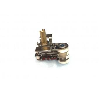 Терморегулятор биметаллический KST118 (MINJIA) / контакты по бокам / с ушами / 4 изоляции купить в Украине