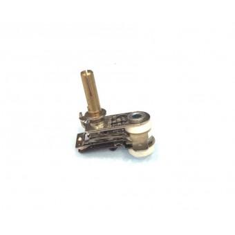Терморегулятор биметаллический KST118 (MINJIA) / контакты по бокам / без ушей / 3 изоляции купить в Украине