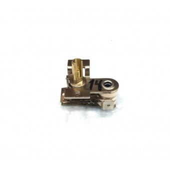 Терморегулятор биметаллический KST118 (MINJIA) / контакты вверх и вниз / с ушами / 3 изоляции купить в Украине
