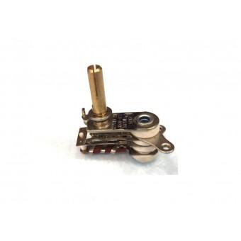 Терморегулятор биметаллический KST118 (MINJIA) / контакты в стороны / без ушей / 4 изоляции купить в Украине