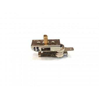 Терморегулятор биметаллический KST228 (MINJIA) / нижний контакт вниз / без ушей / 3 изоляции купить в Украине
