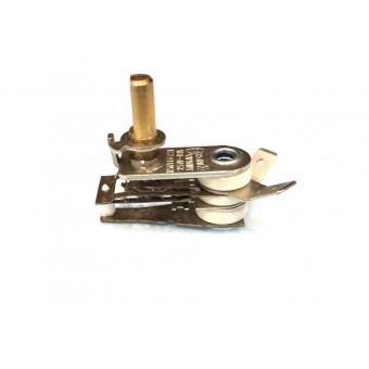 Терморегулятор биметаллический KST118 (MINJIA) / контакты гнутые вверх / без ушей / 3 изоляции купить в Украине