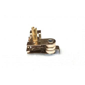 Терморегулятор биметаллический KST118 (MINJIA) / контакты гнутые вниз / с ушами / 3 изоляции купить в Украине