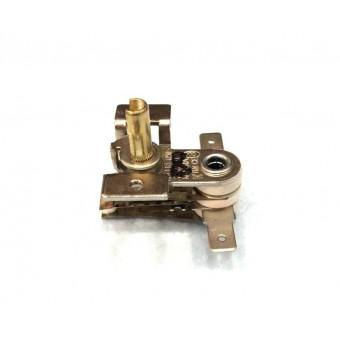 Терморегулятор биметаллический KST118 (MINJIA) / контакты по бокам / с ушами / 3 изоляции купить в Украине