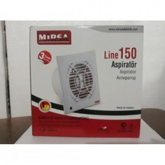 Вентилятор для вытяжки 150 30W 230V 180M MİRSA купить в Украине