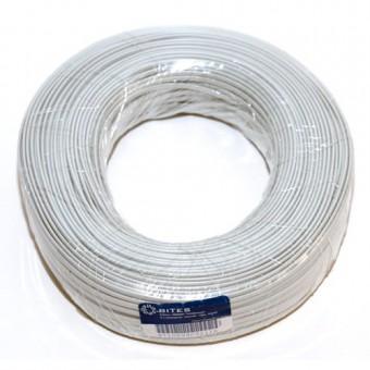 Провод медный термостойкий SIAF-GL сечение 1,00мм /L=100м в изоляции + со стекловолоконной оплеткой Турция купить в Украине