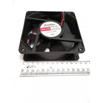 Вентилятор Sunflow (12V, 0.34A) 120х120х38мм квадратный купить в Украине