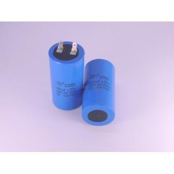 Конденсатор пусковой  для электродвигателя CD60 450 мкф 450В
