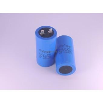 Конденсатор пусковой  для электродвигателя CD60 350 мкф 450В