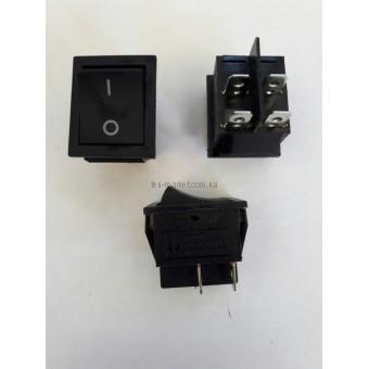 Кнопочный выключатель, Клавиша широкая, без фиксации